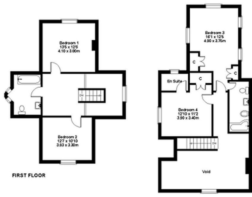 Isle of wight estate agents 01 estate agents shanklin for Floor plans for realtors